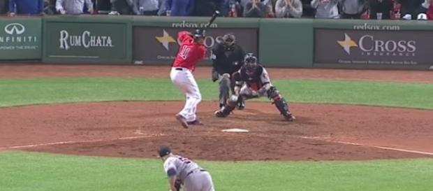 The Red Sox are just one win away from claiming the AL East Division. [Image via MLB/YouTube]