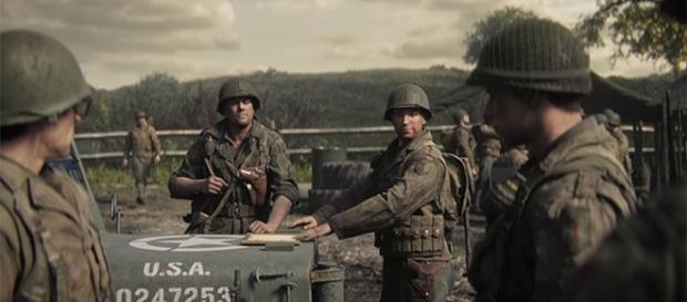 The upcoming World War II game from Sledgehammer Games is arriving this November 3. (YouTube/Call of Duty screencap)