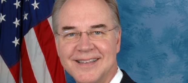 Tom Price [Image by District office of Tom Price|Wikimedia Commons| Cropped | Public Domain ]