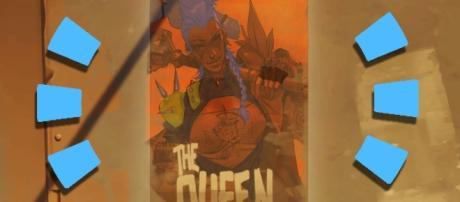 The 'Overwatch' Junkertown Queen. (image source: YouTube/ohnickel)