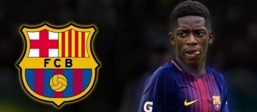 Dembele es el nuevo jugador del FC Barcelona