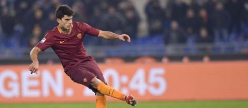 Diego Perotti, esterno della Roma, uno dei milgiori rigoristi del nostro campionato