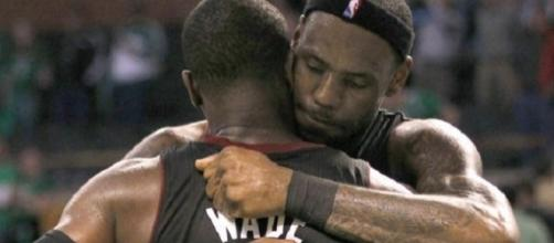 Dwyane Wade and LeBron James reuniting in Cleveland? - image source: Fabián Andrés Bastías Rubio/Flickr - flickr.com