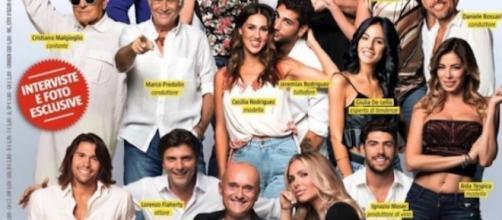 Il cast del GF Vip: foto dal profilo Instagram di Signorini