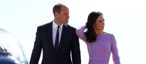 Il principe William e la duchessa di Cambridge