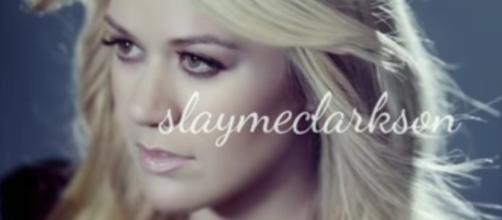 Kelly Clarkson teases fans with new single and possible release date. YouTube/slaymeclarkson