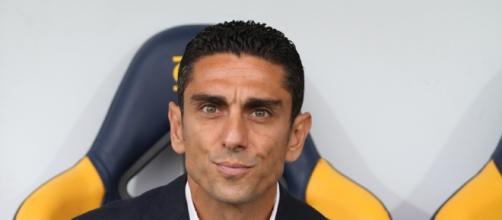L'allenatore del Frosinone Moreno Longo - torcidagranata.net