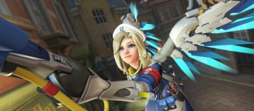 Mercy is better than ever in the latest 'Overwatch' PTR patch. (image source: YouTube/Nash)