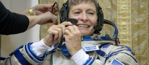 Peggy Whitson holds the record for the longest time an American astronaut spent in orbit. Image Source: NASA