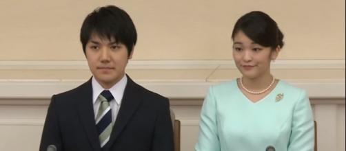 Princess Mako to wed commoner Kei Komuro next year. [Image via Youtube/The Star Online]