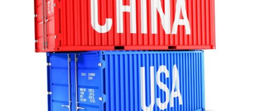 Two containers labeled China and USA respectively. Courtesy: pixabay - CCO Creative commons
