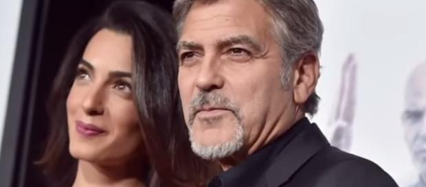 George and Amal Clooney made first red carpet appearance at 2017 Venice Film Festival. YouTube/ET