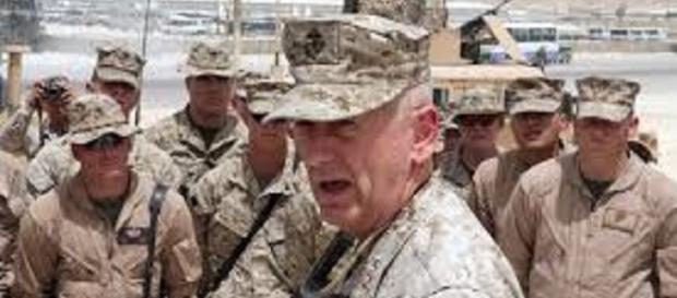 James Mattis warns North Korea for a massive military response. https://upload.wikimedia.org/wikipedia/commons/9/9a/USMC-07922.jpg