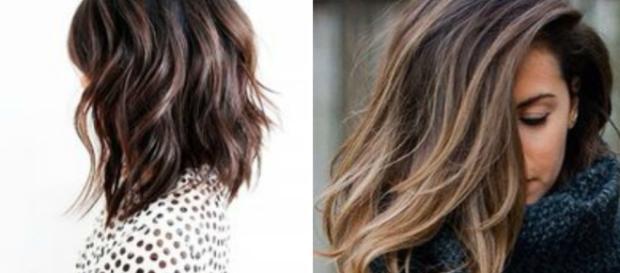 Taglio capelli donna medio lungo