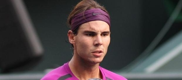 Rafael Nadal will play rising star Andrey Rublev for a spot in the semifinal -- Christopher Johnson via WikiCommons