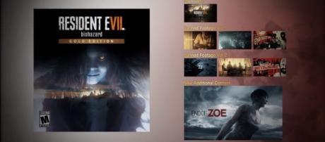 "Resident Evil 7 biohazard Gold Edition: TAPE-01 ""Zoe"" - Announcement Trailer/YouTube Screenshot"