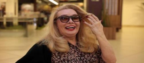 A atriz e cantora Rogéria morreu no Rio de Janeiro