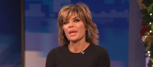 Days of our Lives' Lisa Rinna. (Image via YouTube screengrab/Wendy Williams show)
