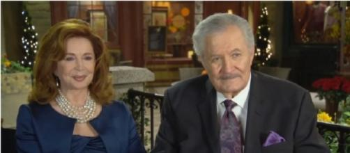 Days of our Lives Maggie and Victor. (Image via YouTube screengrab/NBC)