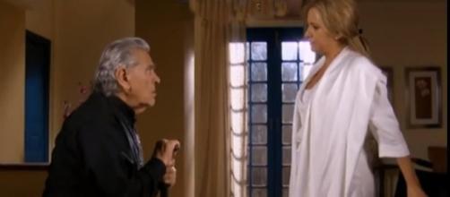Graciela confessa sua mentira para Padre Anselmo