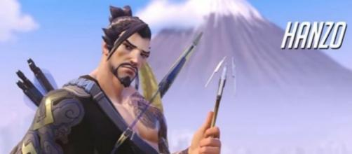 """Hanzo is believed to be the next """"Overwatch"""" hero to arrive in """"Heroes of the Storm"""" (via YouTube/PlayOverwatch)"""