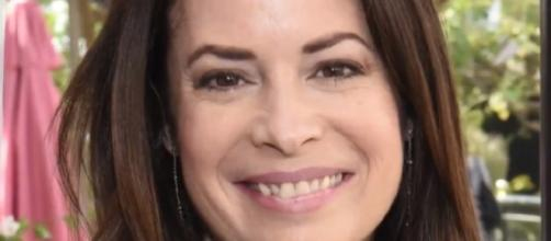 Holly Marie Combs announces engagement with boyfriend, Mike. YouTube/AnewsChannel