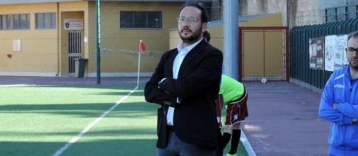 L'allenatore Angelo Bognanni, l'ultima stagione alla guida del Serradifalco