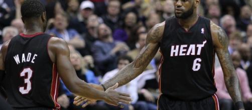 LeBron James, Dwyane Wade heading for Lakers? [Image via Keith Allison/Flickr]