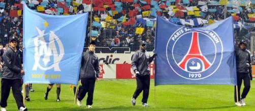 Logo de l'OM et du PSG - Football