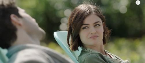 "Lucy Hale in ""Life Sentence."" - Image Credit: Youtube/CW Channel"