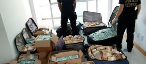 Malas e caixas repletas de dinheiro, PF encontra o 'Banker' de Geddel Vieira Lima (Foto internet)