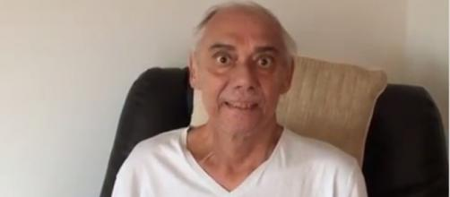 Marcelo Rezende grava vídeo e mostra aparência debilitada