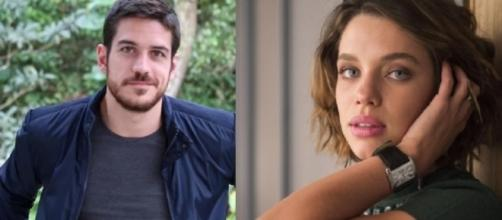 O ator Marco Pigossi e a atriz Bruna Linzmeyer mostram o que pensam sobre sexualidade