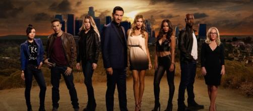 Promo da série ''Lucifer'' na Fox TV