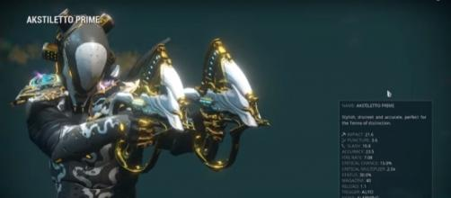 'Warframe' offers a lot of powerful secondary weapons. Photo via Tactical Potato/YouTube