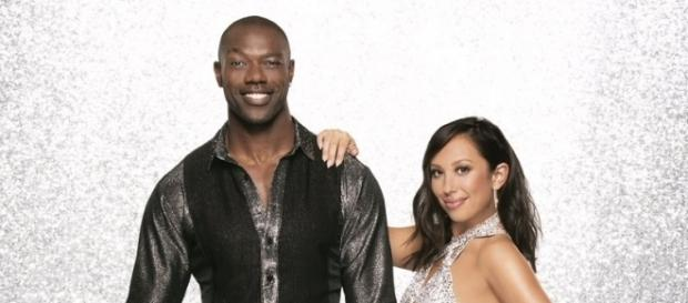 DWTS - Cheryl Burke and Terrell Owens [Image via ABC Disney Press]
