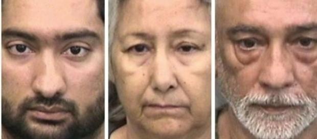 Familia de indieni din Florida arestată pentru violență domestică - Foto: The Hillsborough County Sheriff's Office