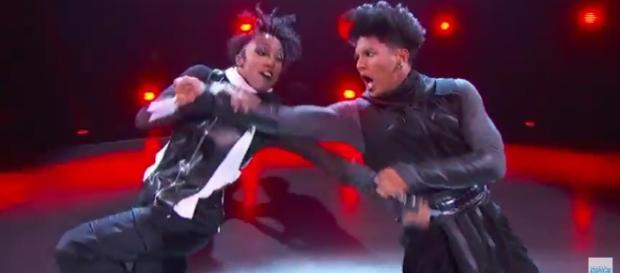 "Mark & Comofrt's hip-hop number in episode 12 of ""SYTYCD"" season 14 - via YouTube/So You Think You Can Dance"