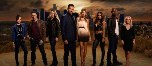 Promo da série ''Lucifer'' na Fox TV