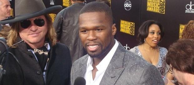 Rapper and 'Power' executive producer 50 Cent has problems with Starz. (Image credit: Keith HInkle/Wikimedia Commons)