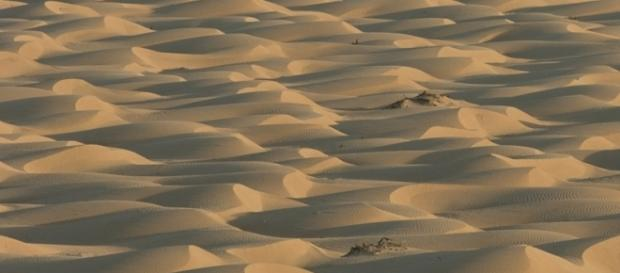 Sand dunes in Quarter, Oman (Credit – Ulf Rydin – wikimediacommoms)
