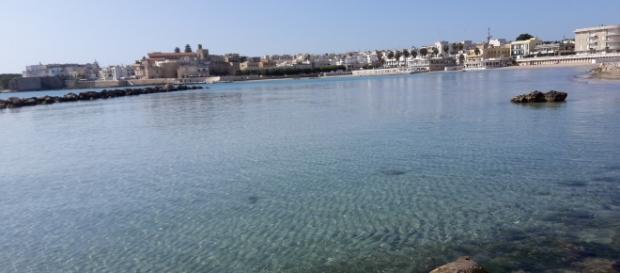 Una foto del mare salentino, Otranto