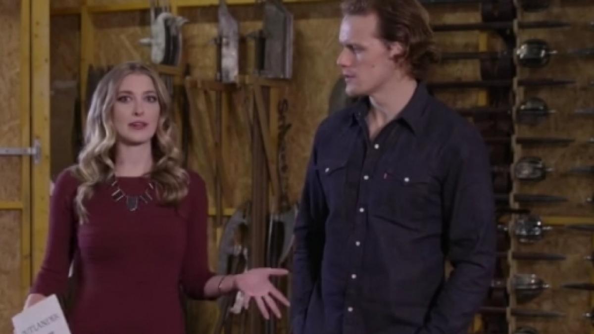 Outlander' Season 3 actor Sam Heughan reveals 'The Armoury'