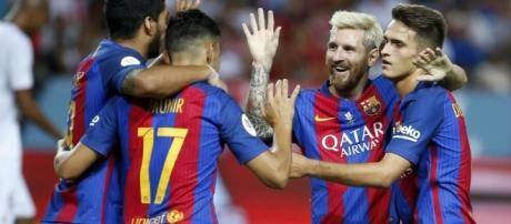 Calciomercato Napoli Denis Suarez Messi - varzesh11.com