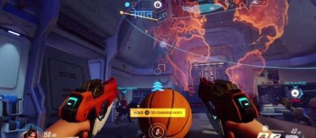 "It looks like Blizzard just killed basketball in ""Overwatch"" (via YouTube/PlayOverwatch)"