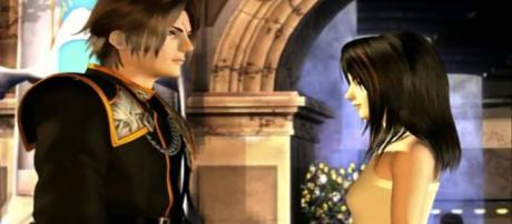 Squall and Rinoa from 'Final Fantasy VIII'. (image source: YouTube/Sakthi Skylanche)