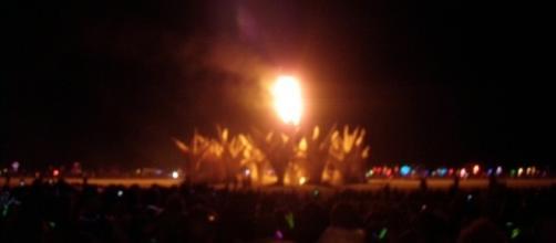 A man dies at the Burning Man Festival/Photo via Mark Richardson, Flickr