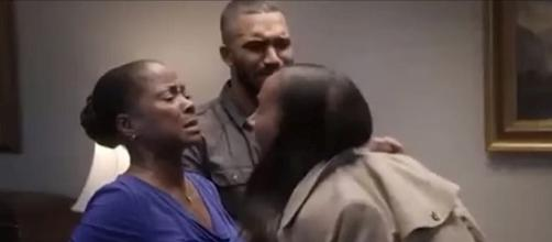 Candace lashes out at her mother at funeral home [Image: HAHN/YouTube screenshot]