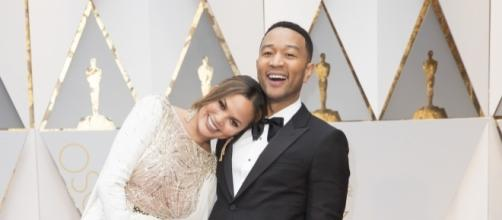 Chrissy Teigen and John Legend. Photo: Disney - ABC Television Group/Creative Commons