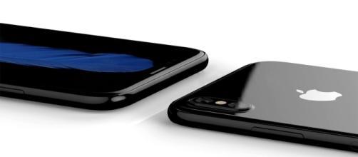 Diseño exterior del nuevo iphone 8
